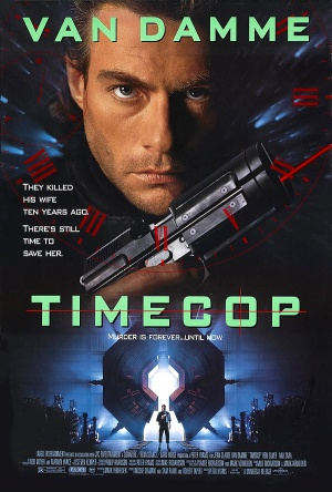 Time Cop (1994) Timecop is a 1994 science fiction action film that isan adaptation of a Dark Horse Comics graphic novel series. Set in the then-future year of 2004 where the power of time travel has been discovered, the film stars Jean-Claude Van Damme as a government agent working for the Time Enforcement Commission, an American law enforcement agency that must utilize this newfound science to catch criminals who have gone into the past to commit crimes. The film was directed by Peter Hyams, who would also direct Van Damme in 1995's Sudden Death. The film would spawn a DTV sequel as well as a short-lived ABC series.