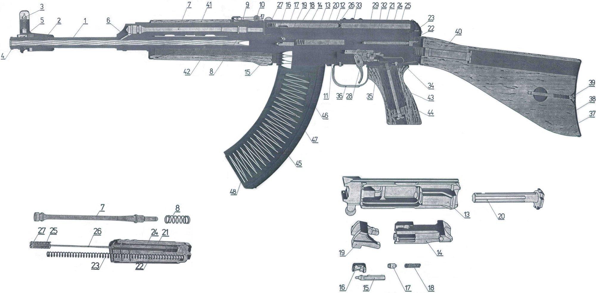 CZ 858 / Vz  58 Ejector, MilSurp, NOS