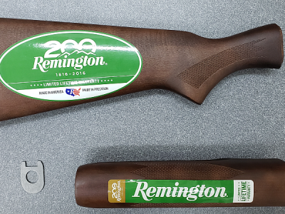 HOGUE OverMolded Remington 870 Stock and Forend Set