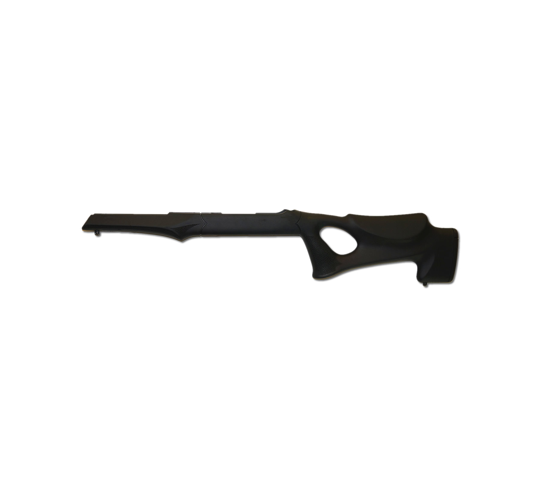Hogue 10-22 Tactical Thumbhole Stock .920 Barrel Channel Black OverMolded Rubber