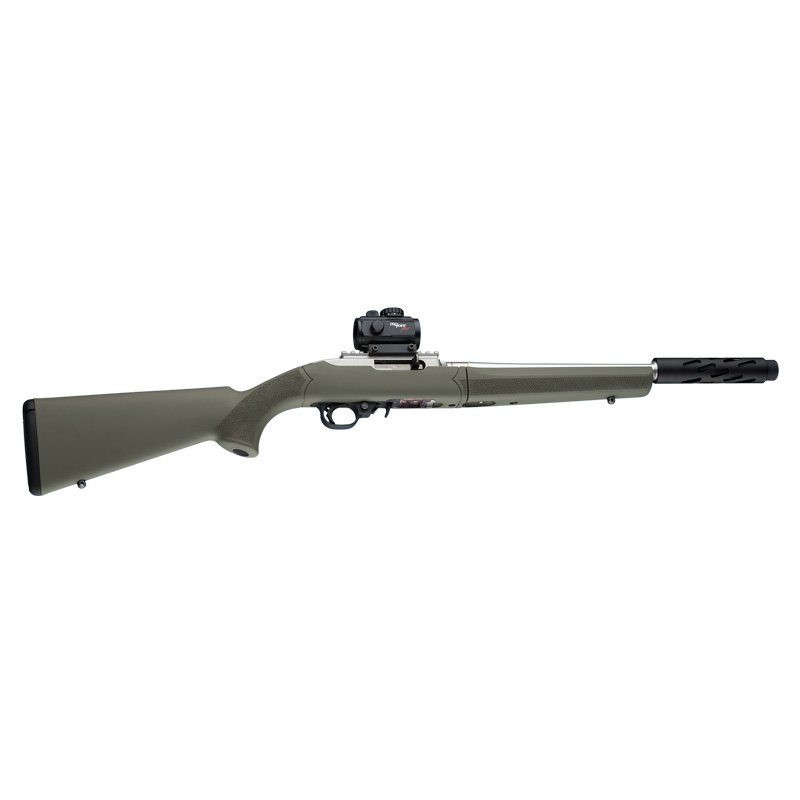 HOGUE 10-22 Takedown 920 Diameter Barrel OD Green Rubber OverMolded Stock