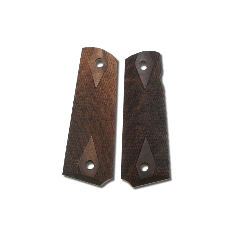 Hogue 1911 Exotic Grips Government and Commander Rosewood