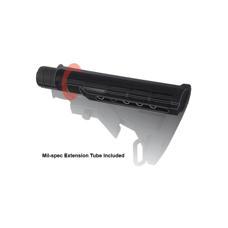 UTG Mil-spec Butt Stock Kit, 6 position, Black